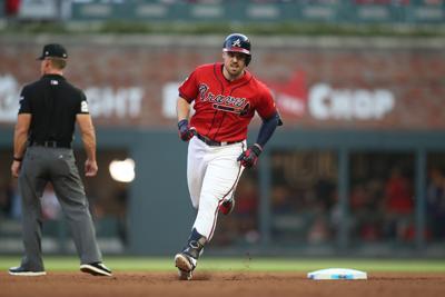 MLB: NLDS-St. Louis Cardinals at Atlanta Braves