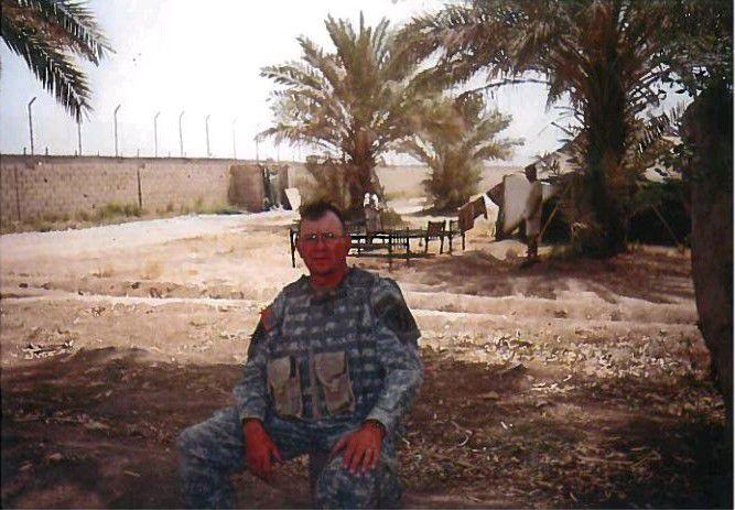 Michael Conley Iraq 2005