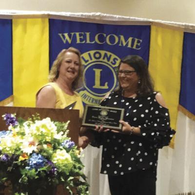 Katie Proctor Lions Club award