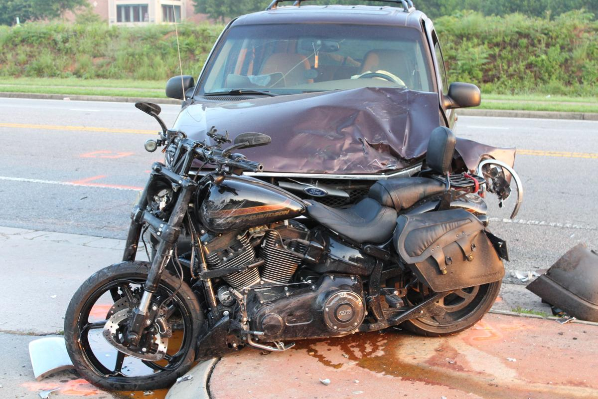 woodstock man seriously injured after motorcycle accident cherokee