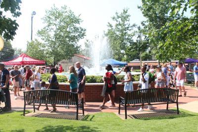 July 5 fountain