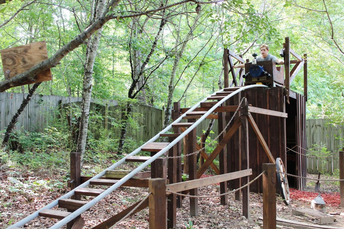 canton teen u0027s custom backyard roller coaster is ready for summer