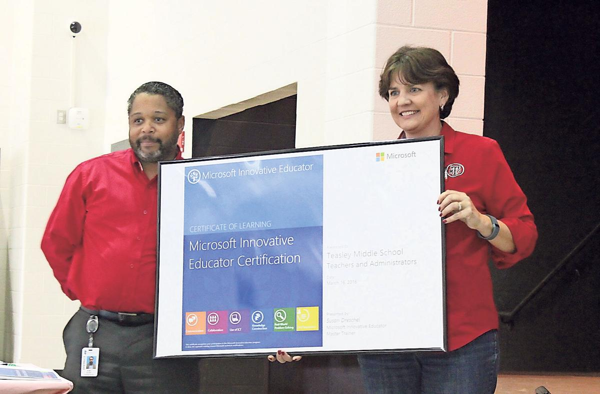 Middle School Achieves Microsoft Certification Local News