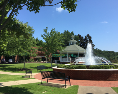 The Park at City Center in Woodstock
