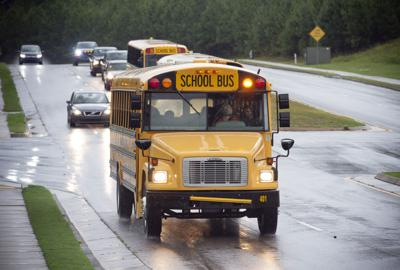 Cherokee County School District bus