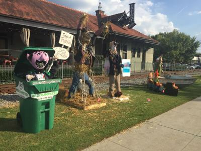 Scarecrow invasion
