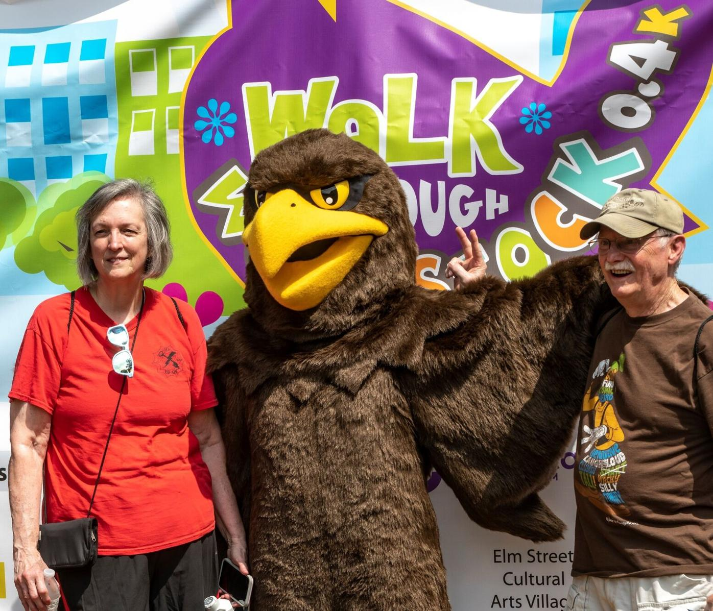 Carolyn and Bill Highsmith with Swoop