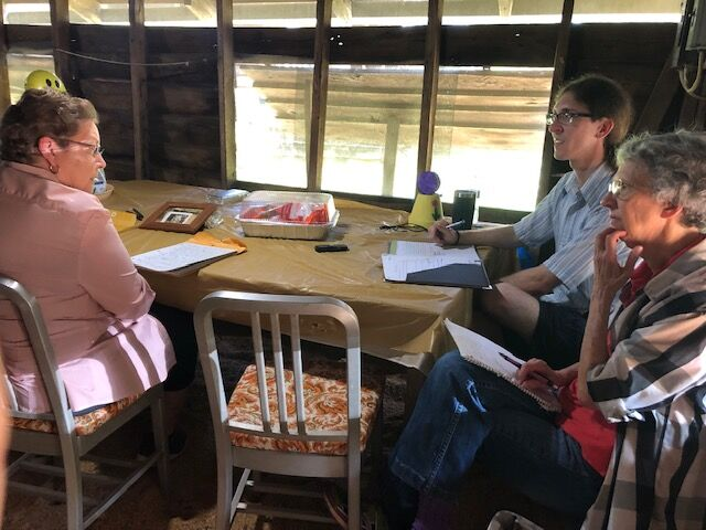 interview Holbrook Camp Meeting