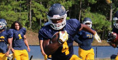 Accelerated growth: Reinhardt running back Cain matures on and off the field