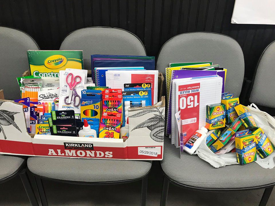 Local nonprofit's program gets free school supplies to kids