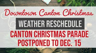 Canton Christmas Parade 2019 Events postponed, cancelled due to rain | Local News