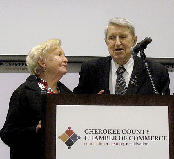 Sosebee calls his wife the love of his life during First Citizen speech