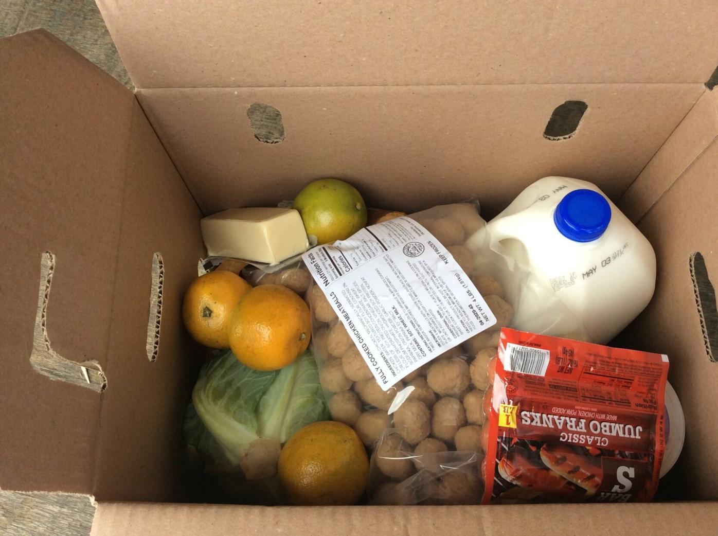 Rotary food box