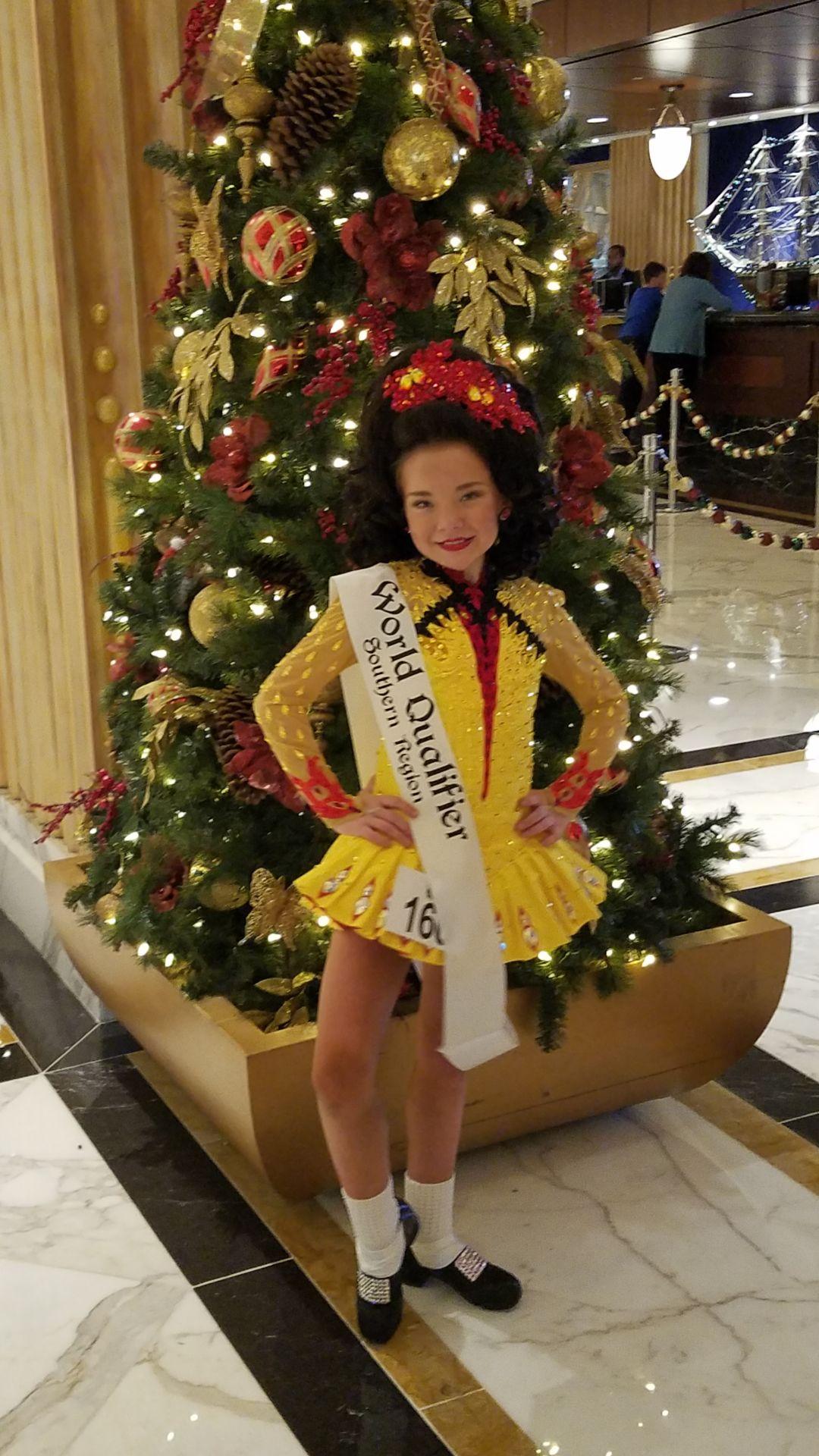 Abby McCloskey Southern region championship