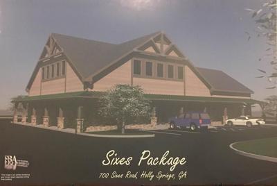 Sixes Road rendering - Package Store