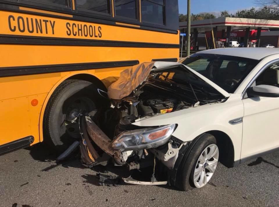 No injuries in school bus accident on Hwy 92 | Local News