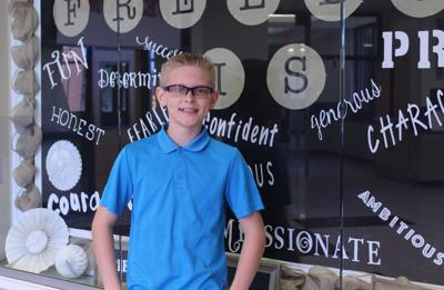 Freedom Middle School's Braden Flournoy represents Cherokee at state