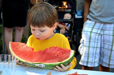 Canton watermelon kid