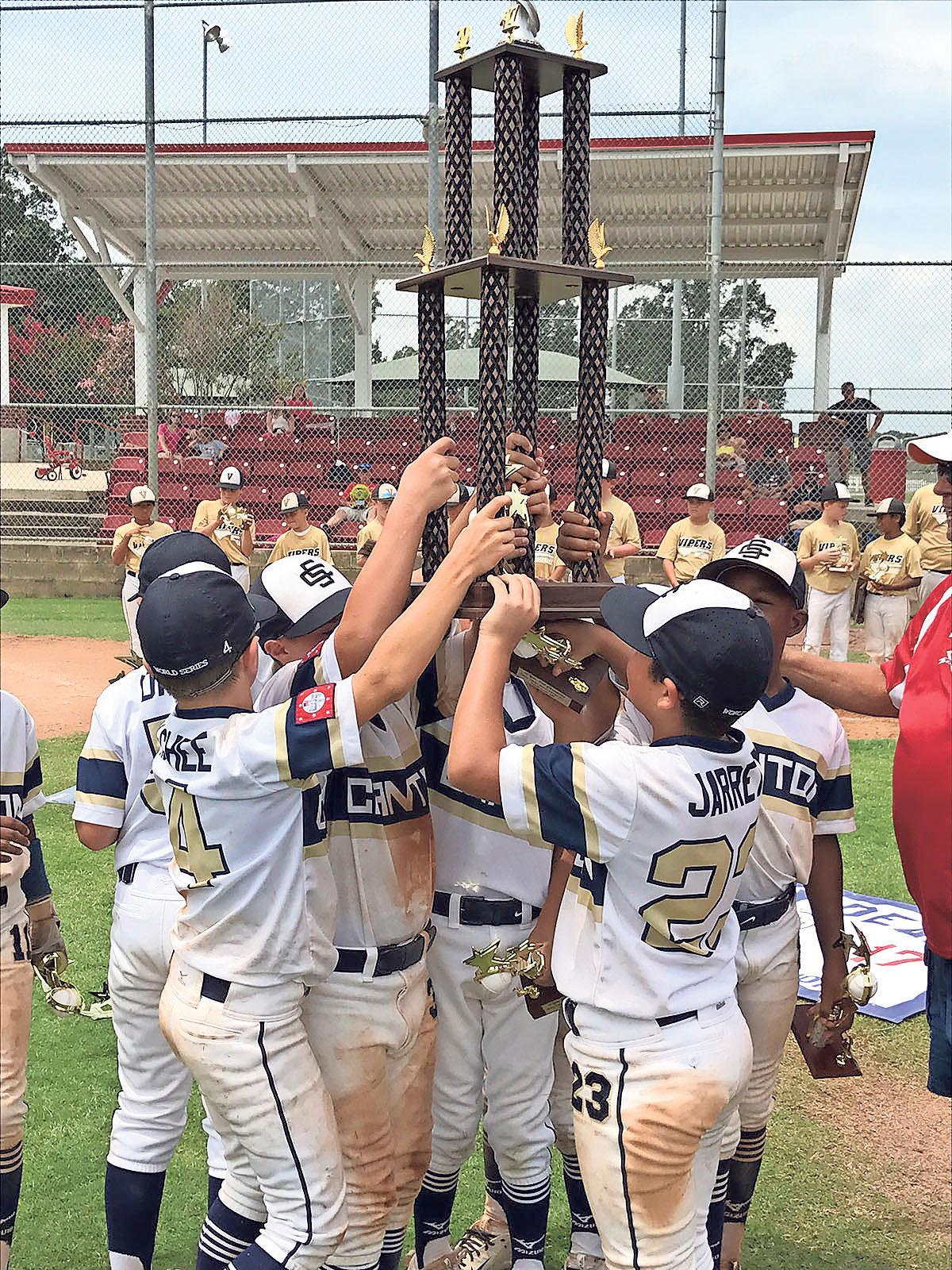 Now at 10-and-under, Canton Stingers add another Dizzy Dean