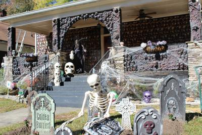 East Point Halloween graveyard