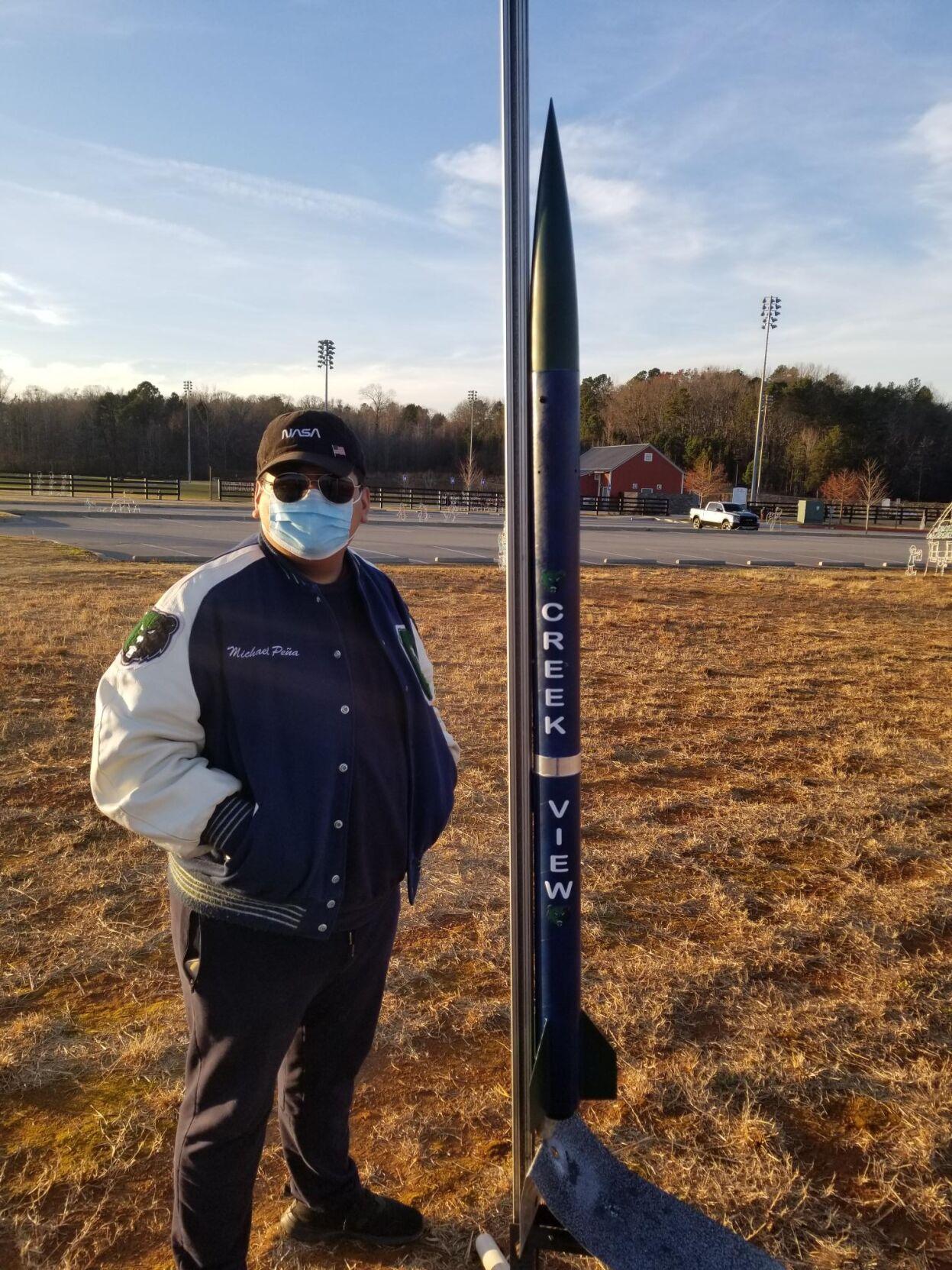Creekview rocket team 2 captain