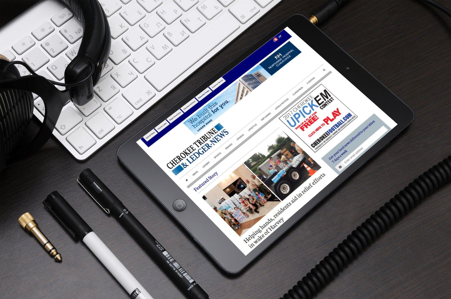 tribuneledgernews com powered by the cherokee tribune and ledger