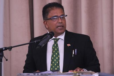 Dr Roodal Moonilal