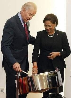 Joe Biden and kamla