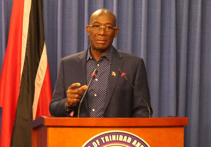 Prime Minister Dr Keith Rowley