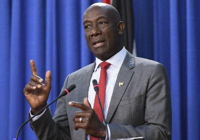 NEW Prime Minister Dr Keith Rowley