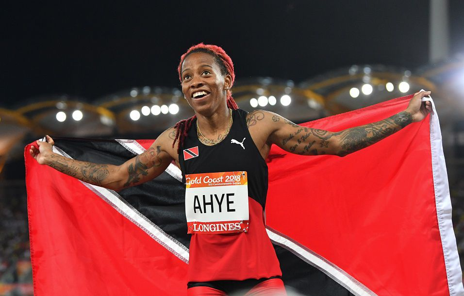 Michelle-Lee Ahye Commonwealth Gold