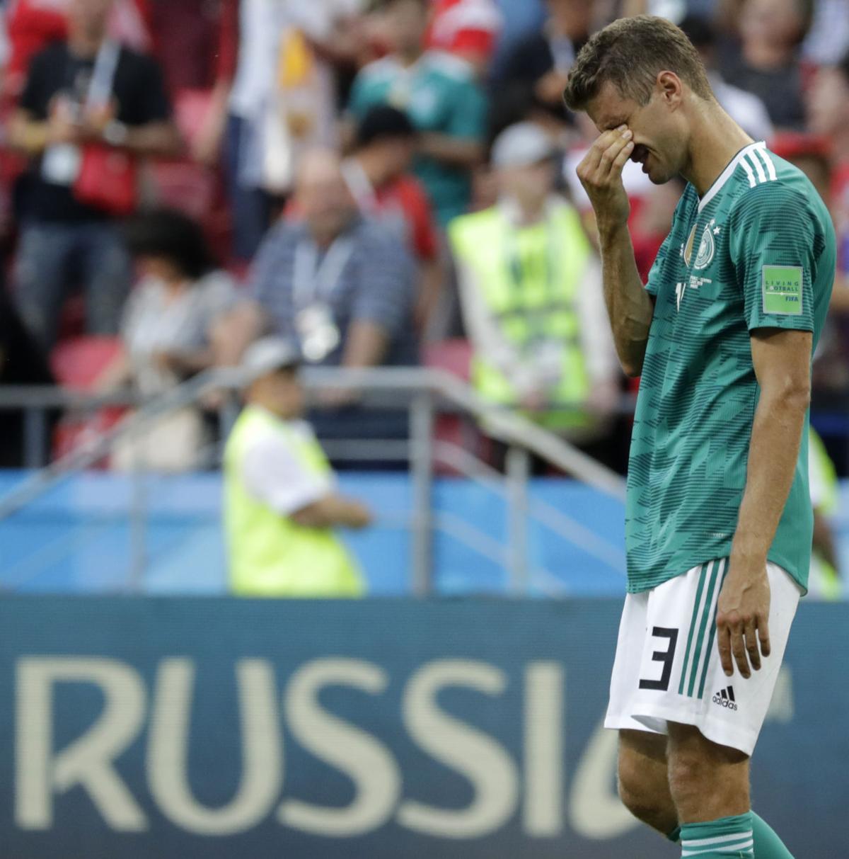 APTOPIX Russia Soccer WCup South Korea Germany