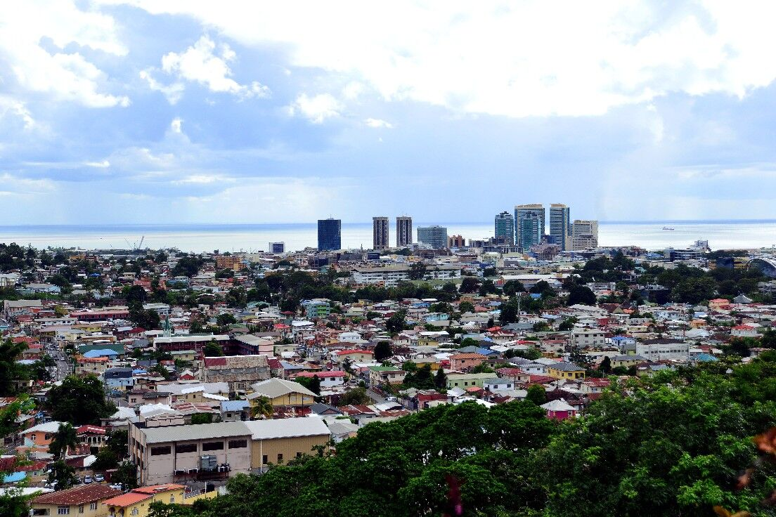 Port of Spain from the Lady Young Road