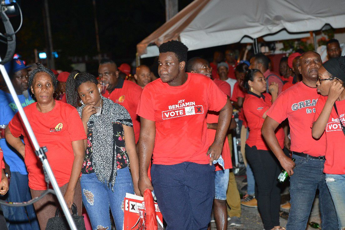 PNM supporters in a subdued mood