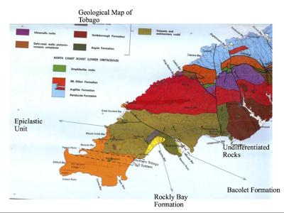Geological Map of Tobago