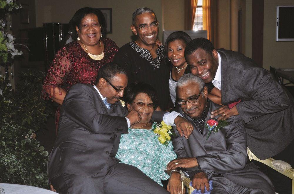 Hart's family