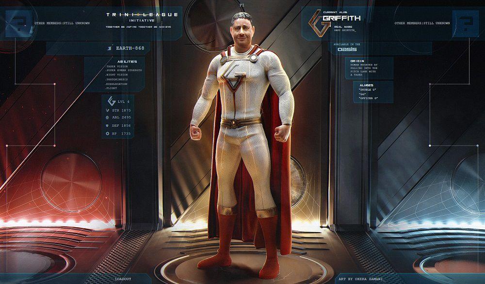Superhero Gary