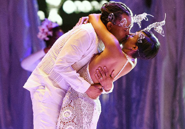 WEDDING KISS: Machel Montano