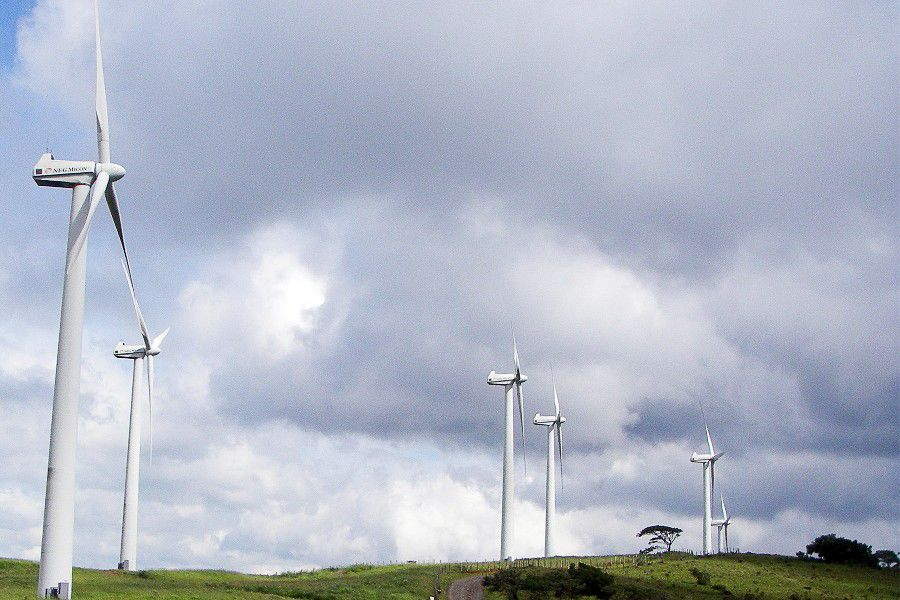 Tilawind wind farm in Costa Rica