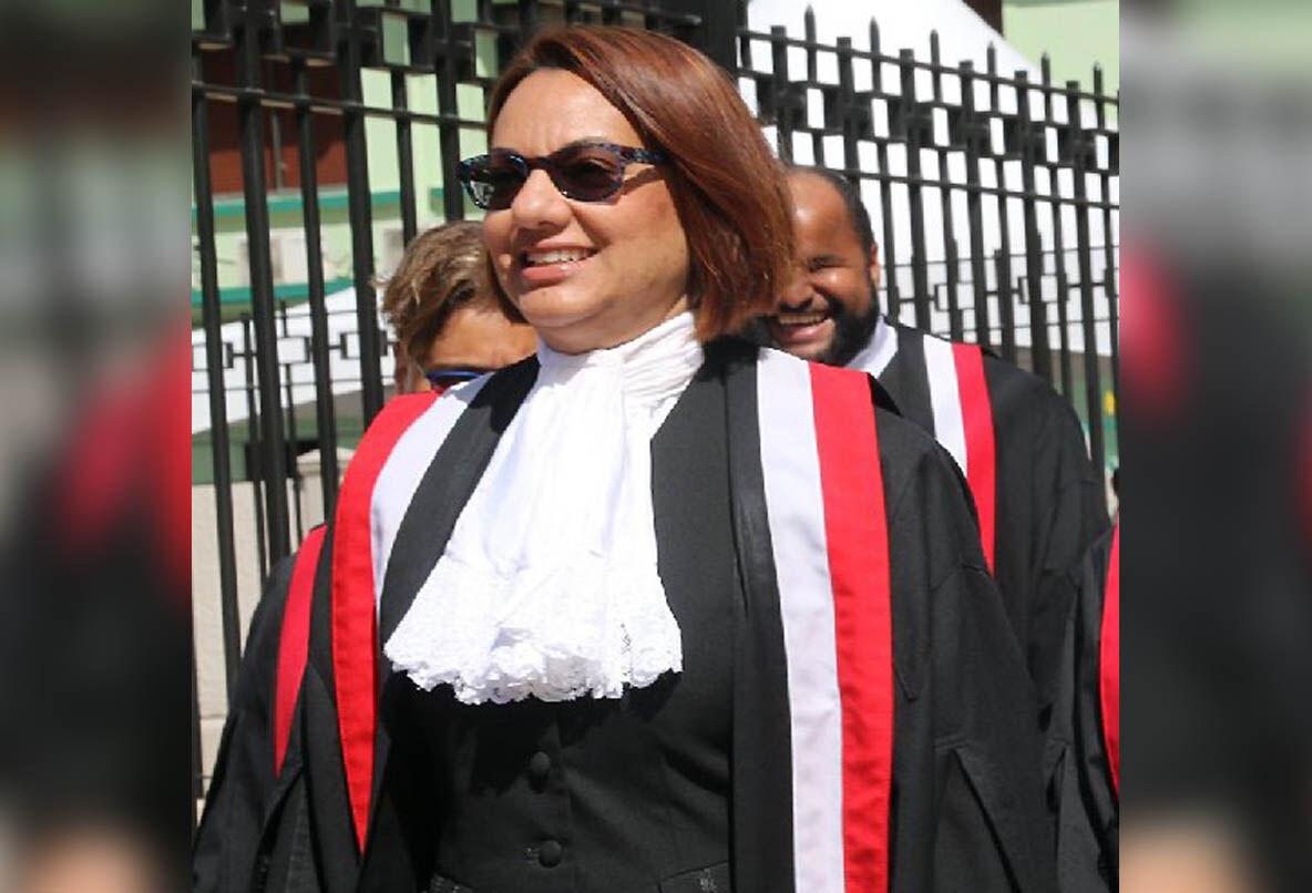 Justice Nadia Kangaloo