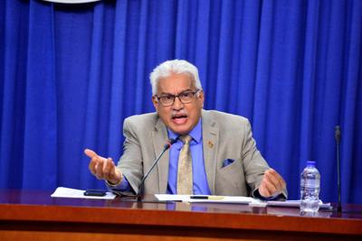 Minister of Health Terrence Deyalsingh