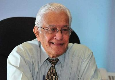 Former T&T prime minister Basdeo Panday