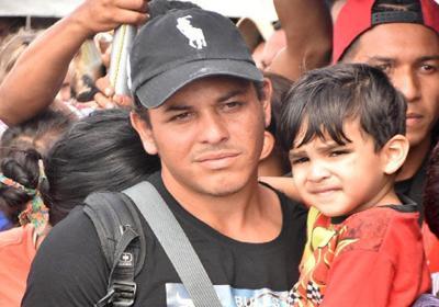Venezuelan migrant