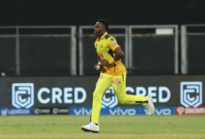 Dwayne Bravo of Chennai Super Kings