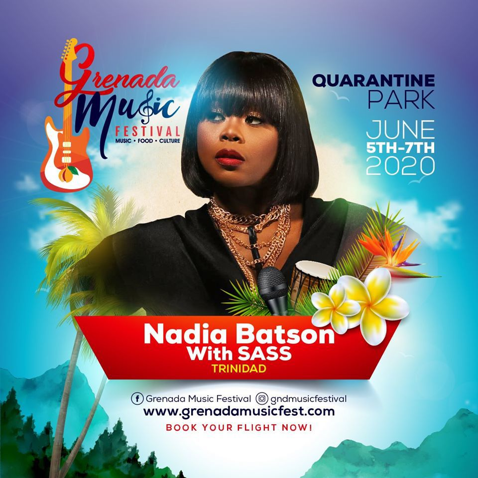 Grenada Music Festival - Nadia Batson