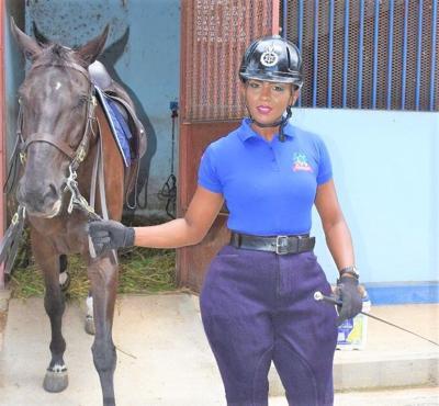 Woman police constable Natalie Blake