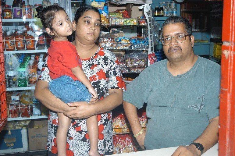 Vijay's parents