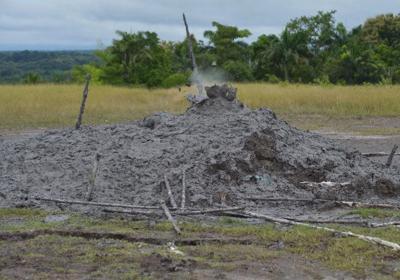 Piparo Mud Volcano