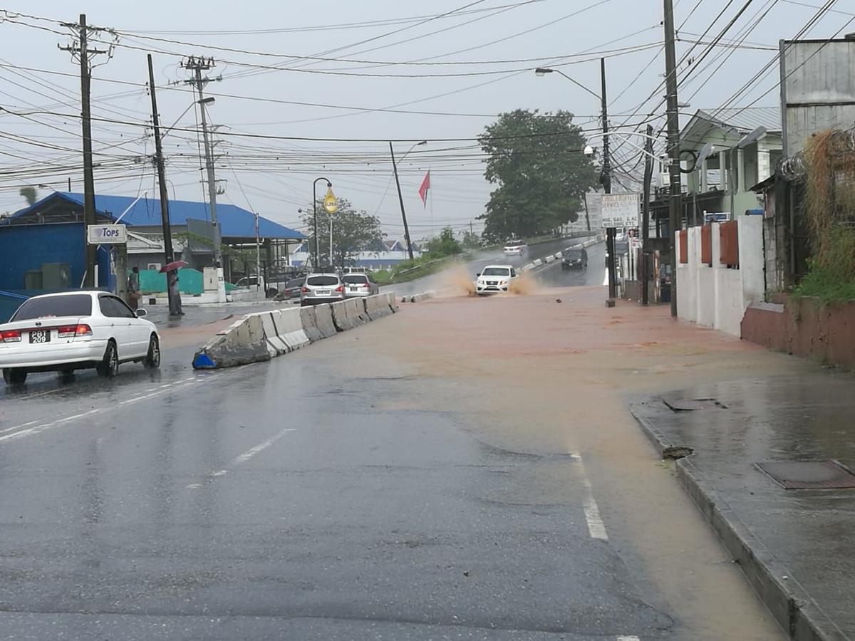 Torrential Rainfall: Western Main Road