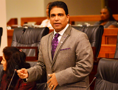Lawsuit against Moonilal struck out*